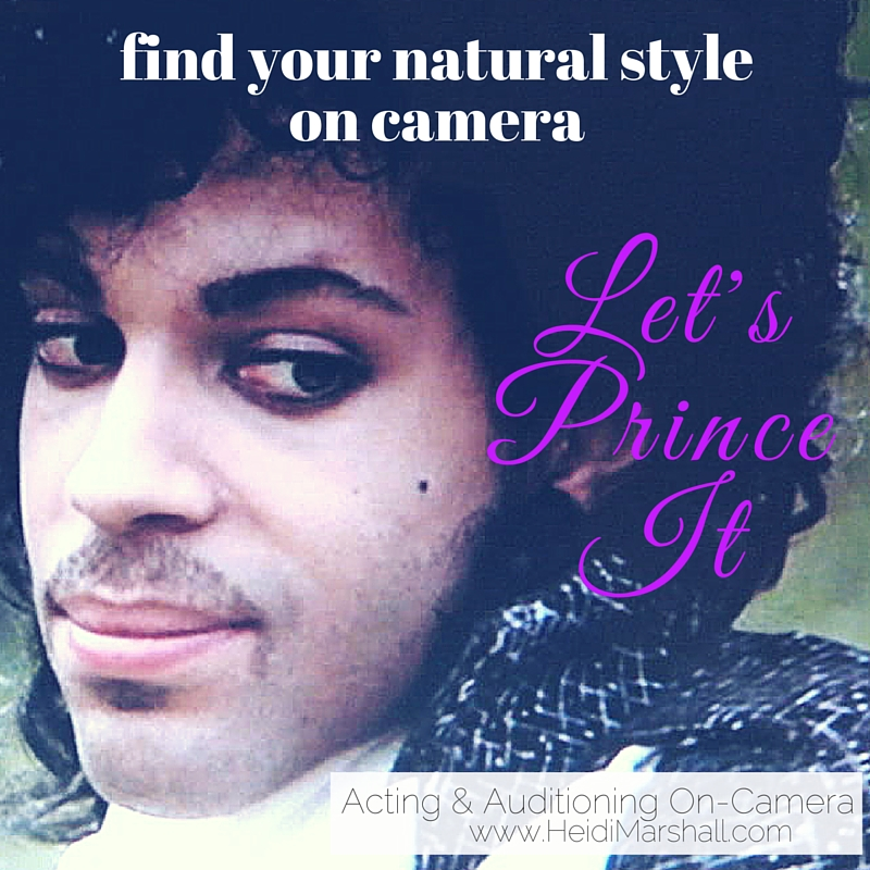 Find your natural style, like Prince